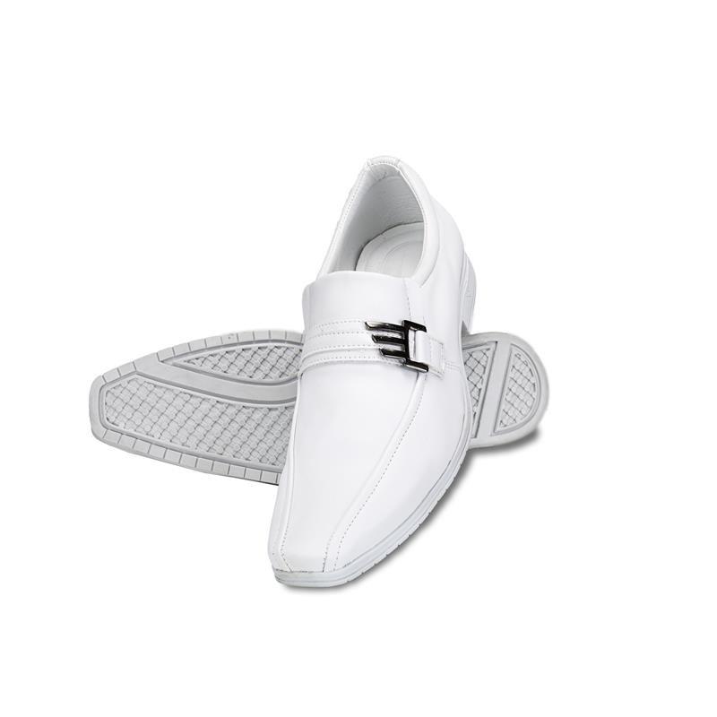 Sapato Social Venetto Branco Sintético