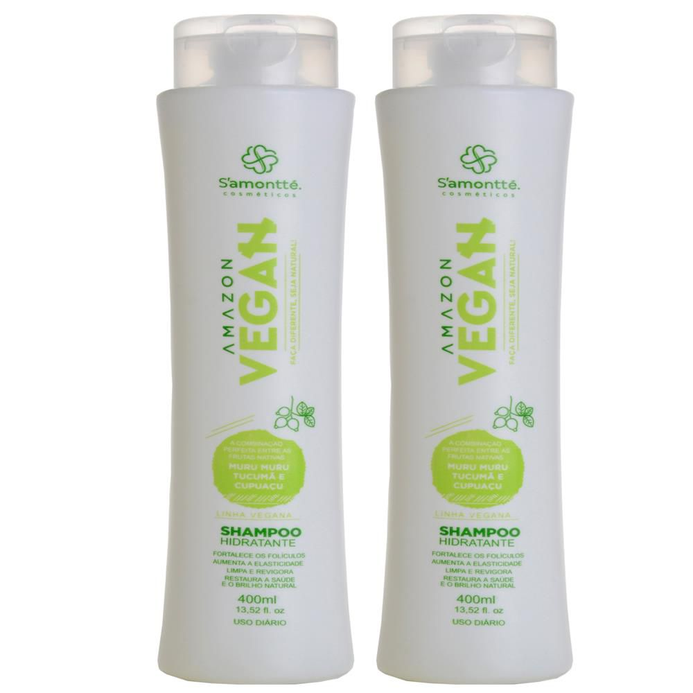 Shampoo 400ml S'amontté 02und - Selecione a fragrância