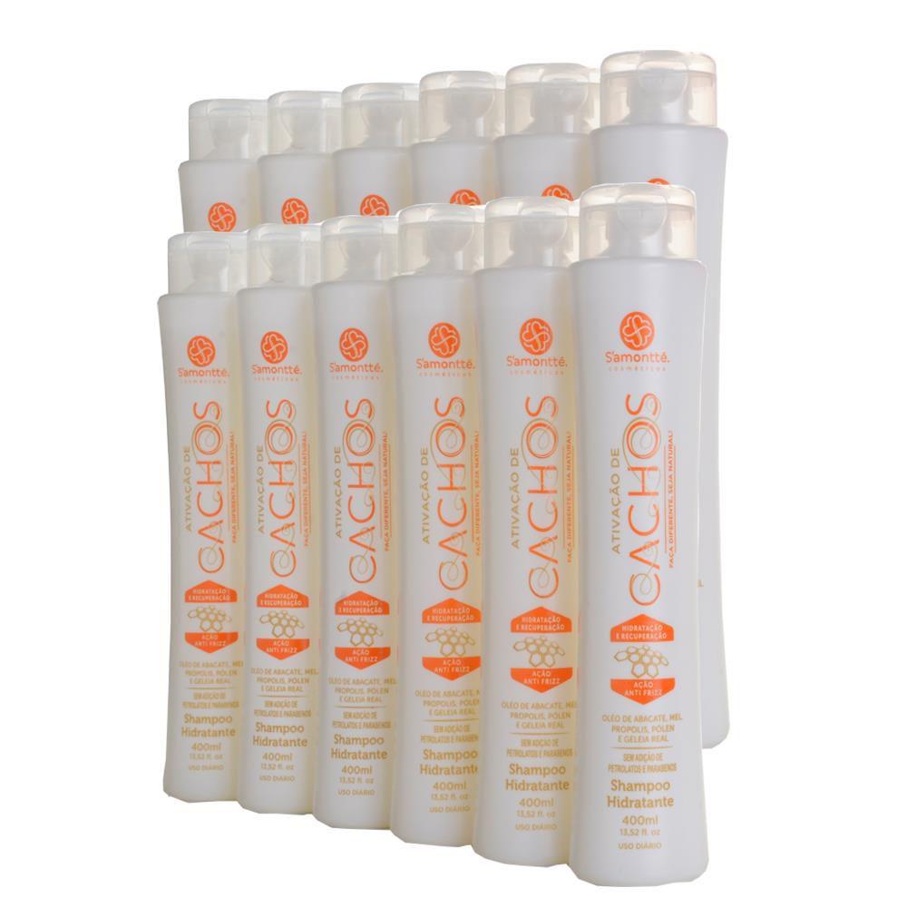 Shampoo S'amontté 12 unidades - Selecione a fragrância