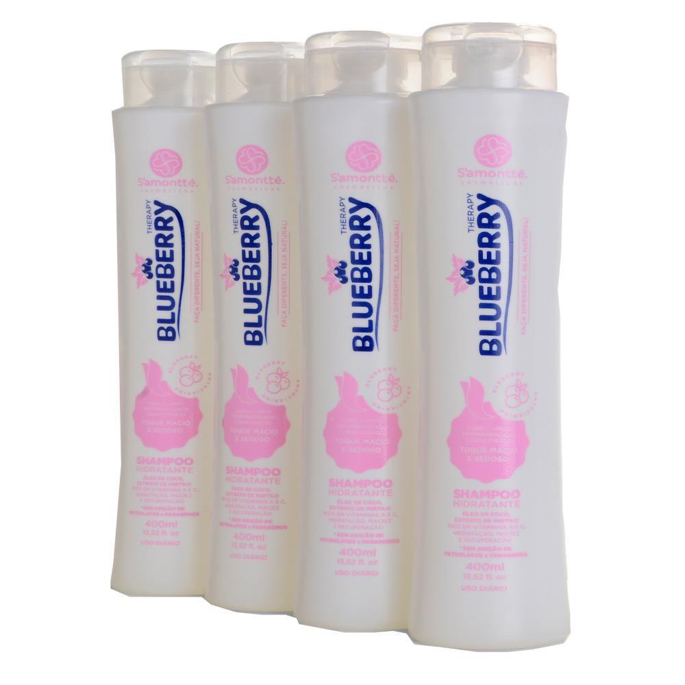 Shampoo S'amontté 4 unidades - Selecione a fragrância