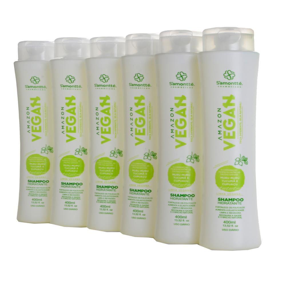 Shampoo S'amontté 6 unidades - Selecione a fragrância