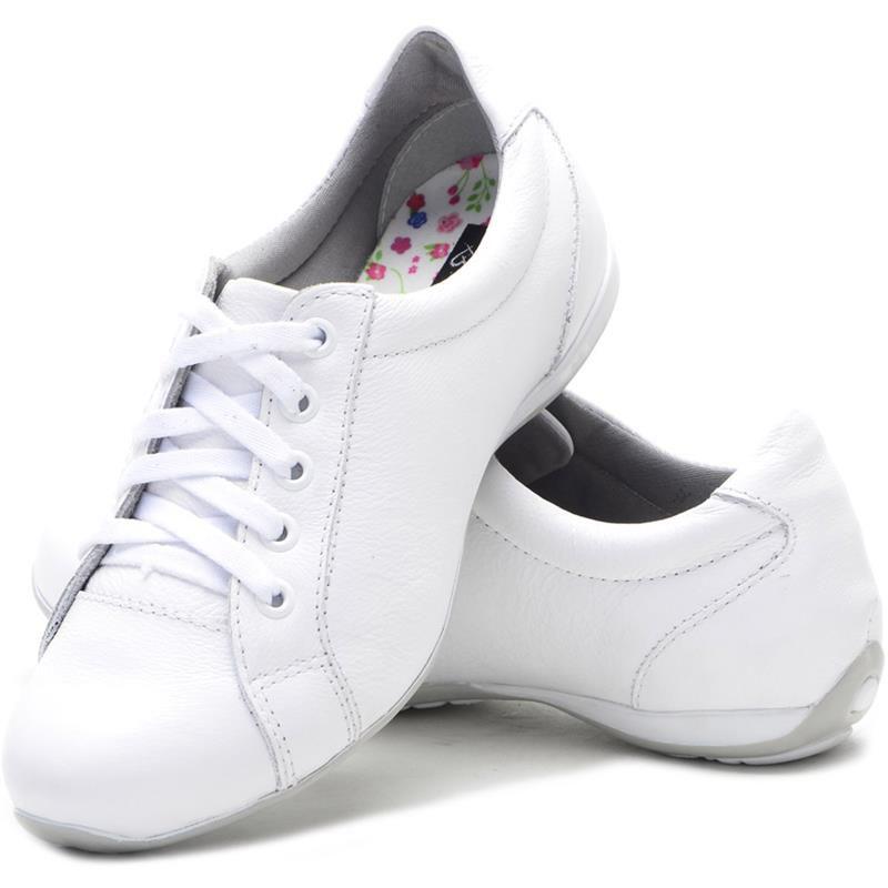 Tênis Sapatênis Feminino BMBrasil 227-01 Branco