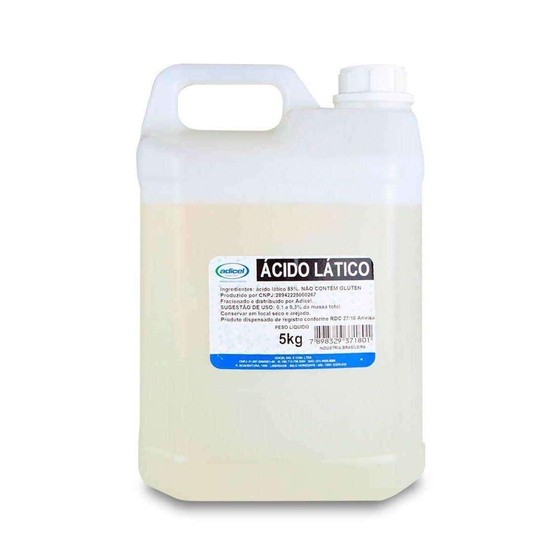 Ácido Lático - 5 Kg
