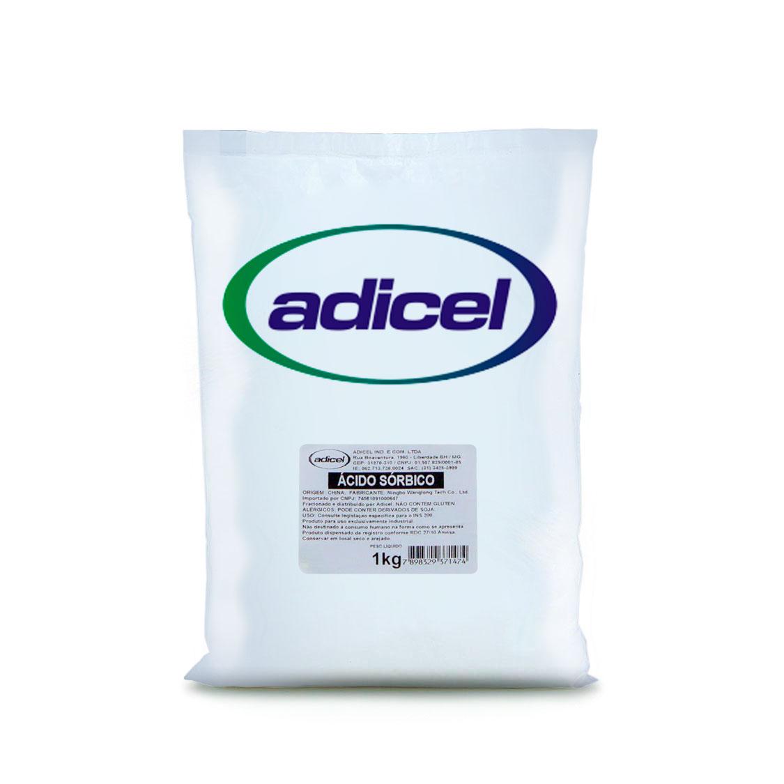 Ácido Sórbico - 1 kg