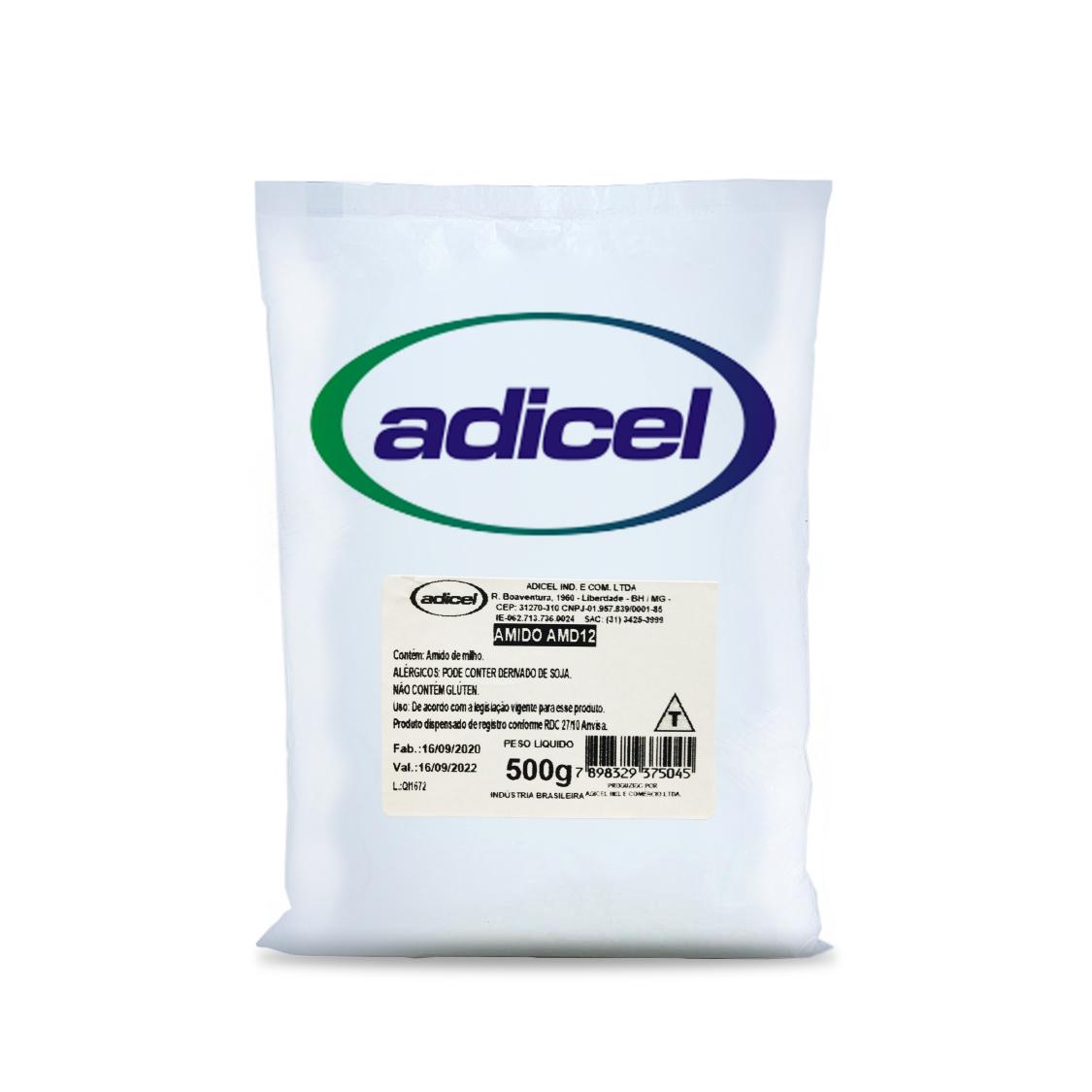 Amido Modificado de Milho para Balas e Doces Gelados (AMD12) - 500g