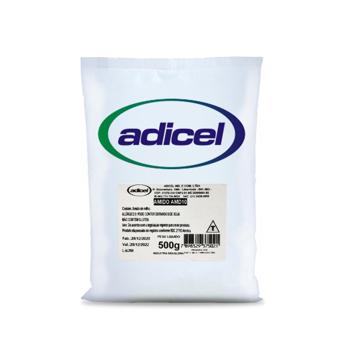 Amido Modificado de Milho para Processos a Frio (AMD10) - 500g