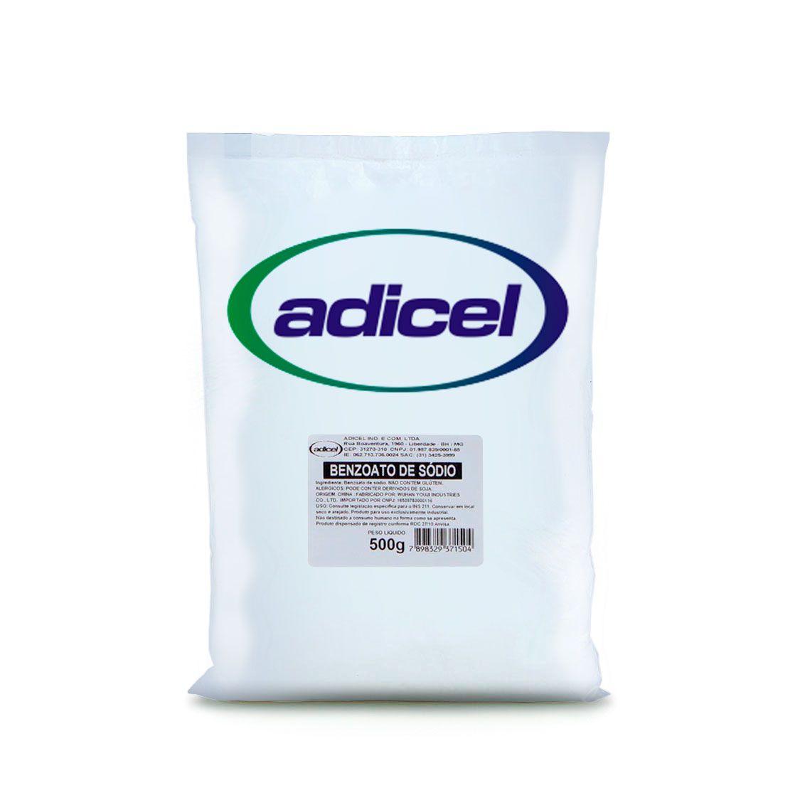 Benzoato De Sódio Pó - 500 g