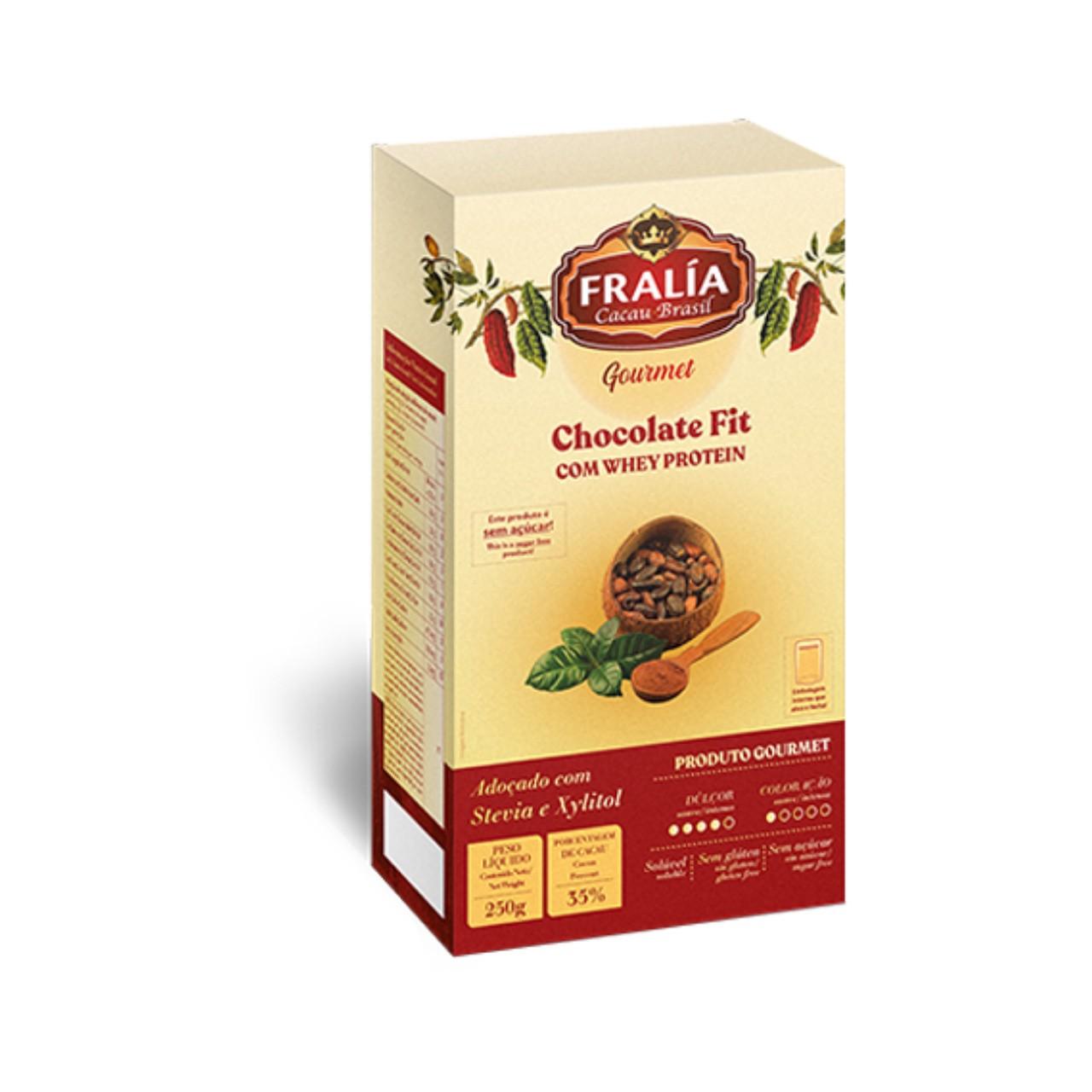 Chocolate Em Pó Fit Fralía Adicel - 250 g