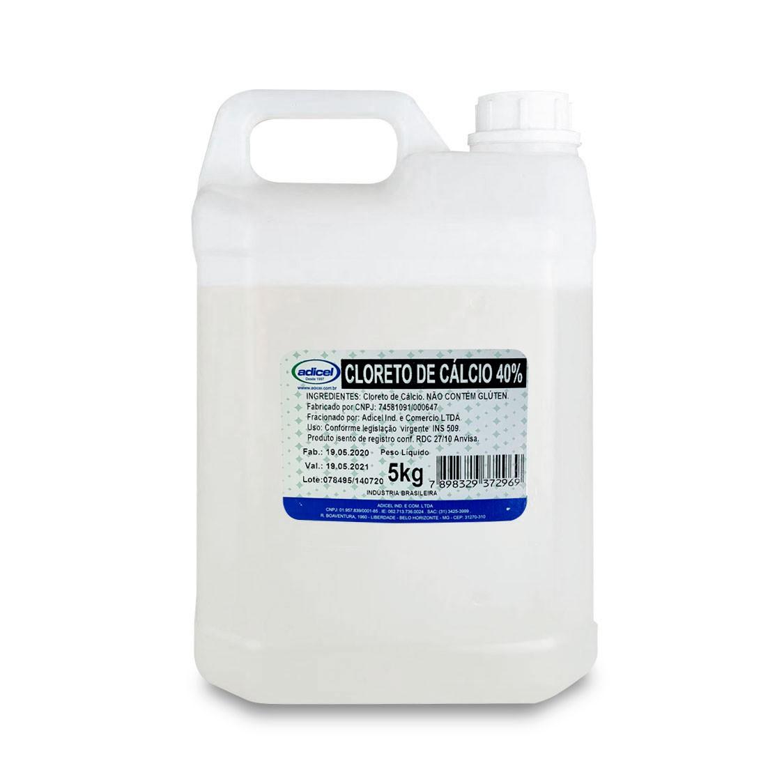 Cloreto De Cálcio 40% - 5kg