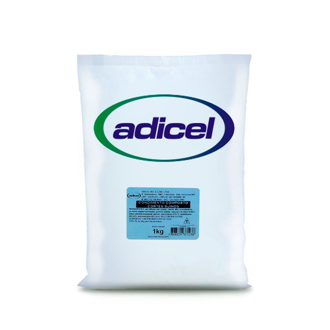 Condimento Composto Cortes Suínos - 1 kg