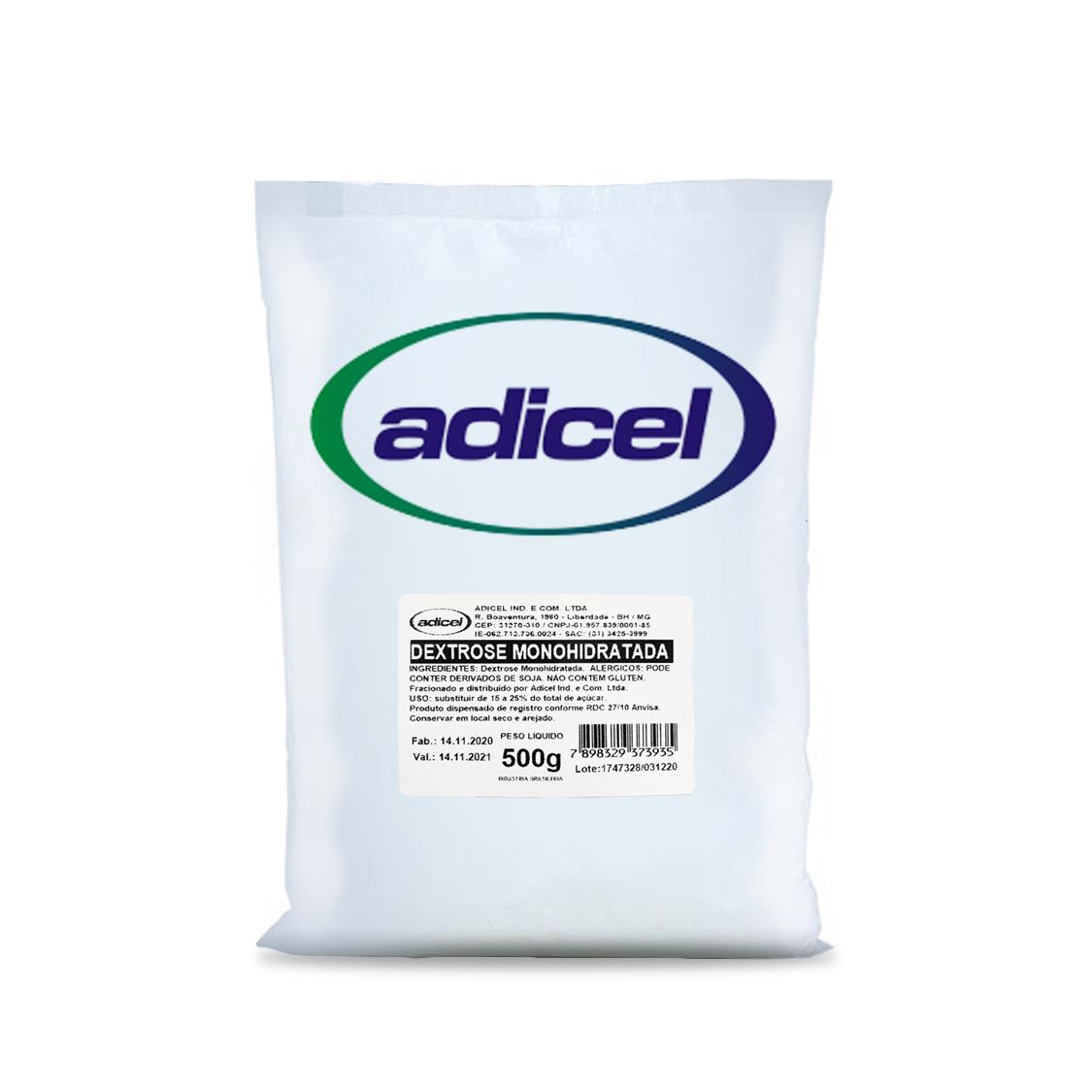 Dextrose Monohidratada - 500g
