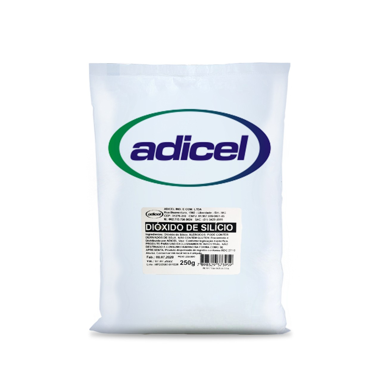 Dióxido de Silício - 250g