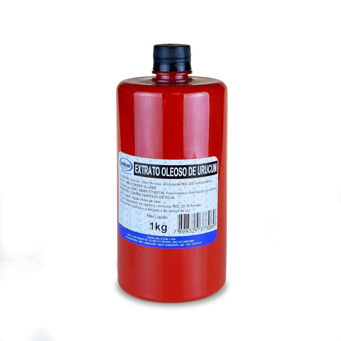 Extrato Oleoso Concentrado De Urucum - 1 Kg