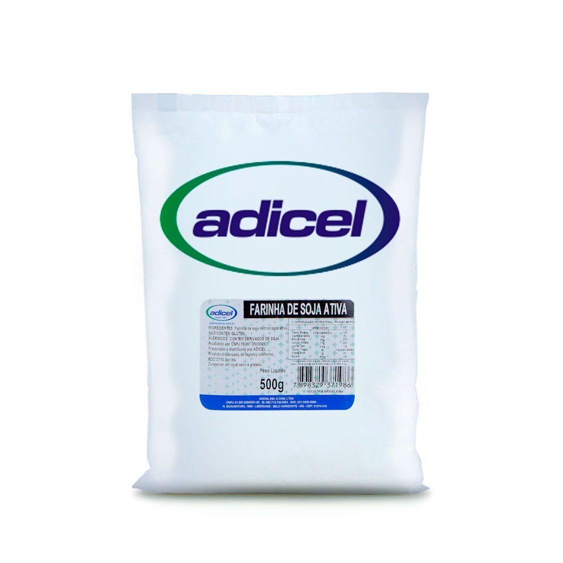 Farinha De Soja Integral Ativa - 500 g