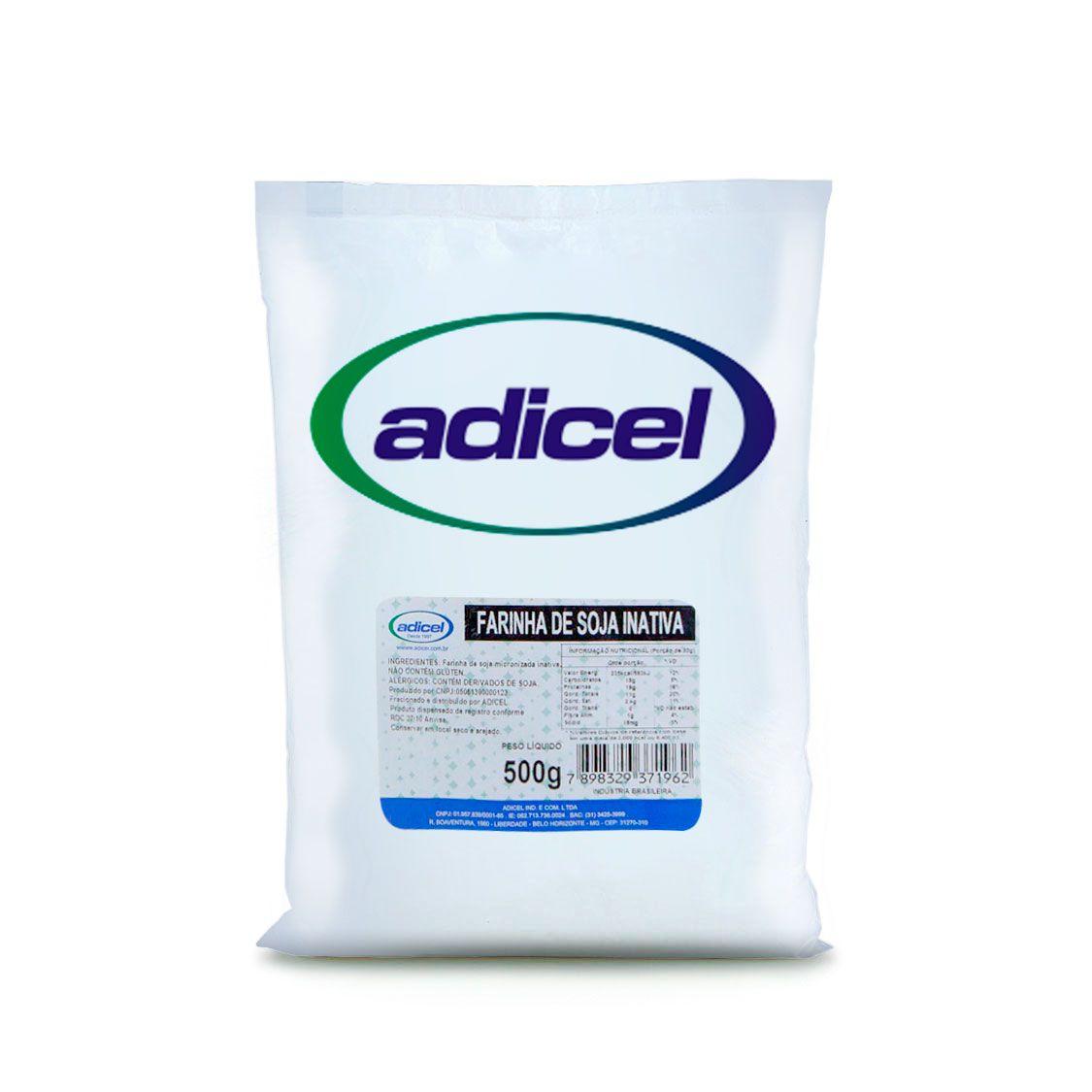 Farinha Soja Integral Inativa - 500 g