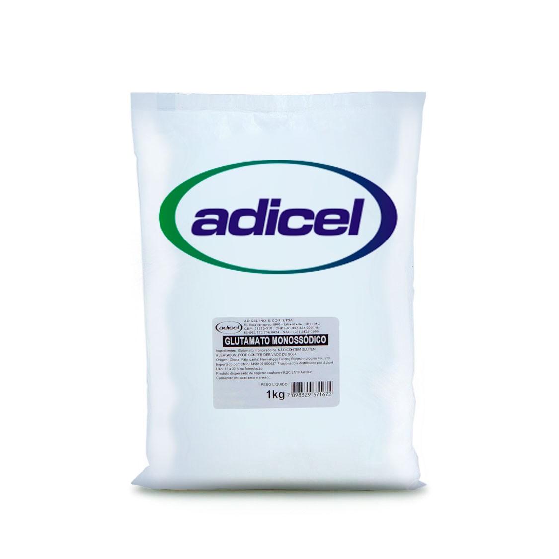 Glutamato Monossódico (Similar Ajinomoto) - 1 kg