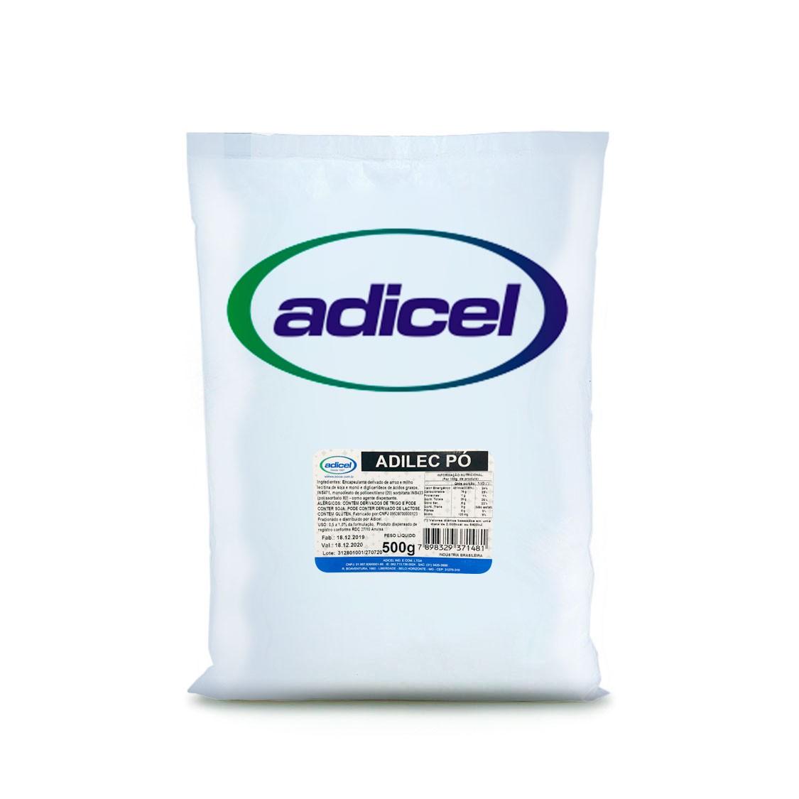 Lecitina De Soja Adilec Em Pó -  500 g