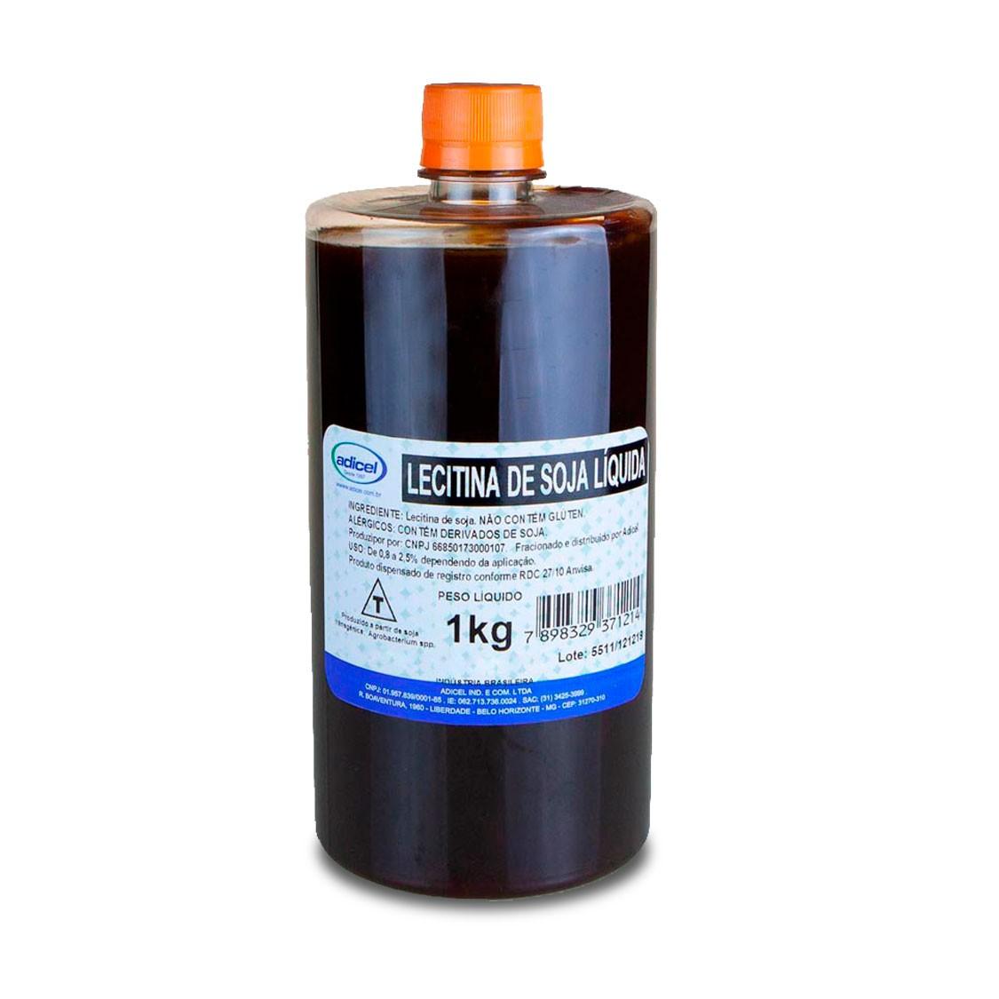 Lecitina De Soja Líquida - 1 kg