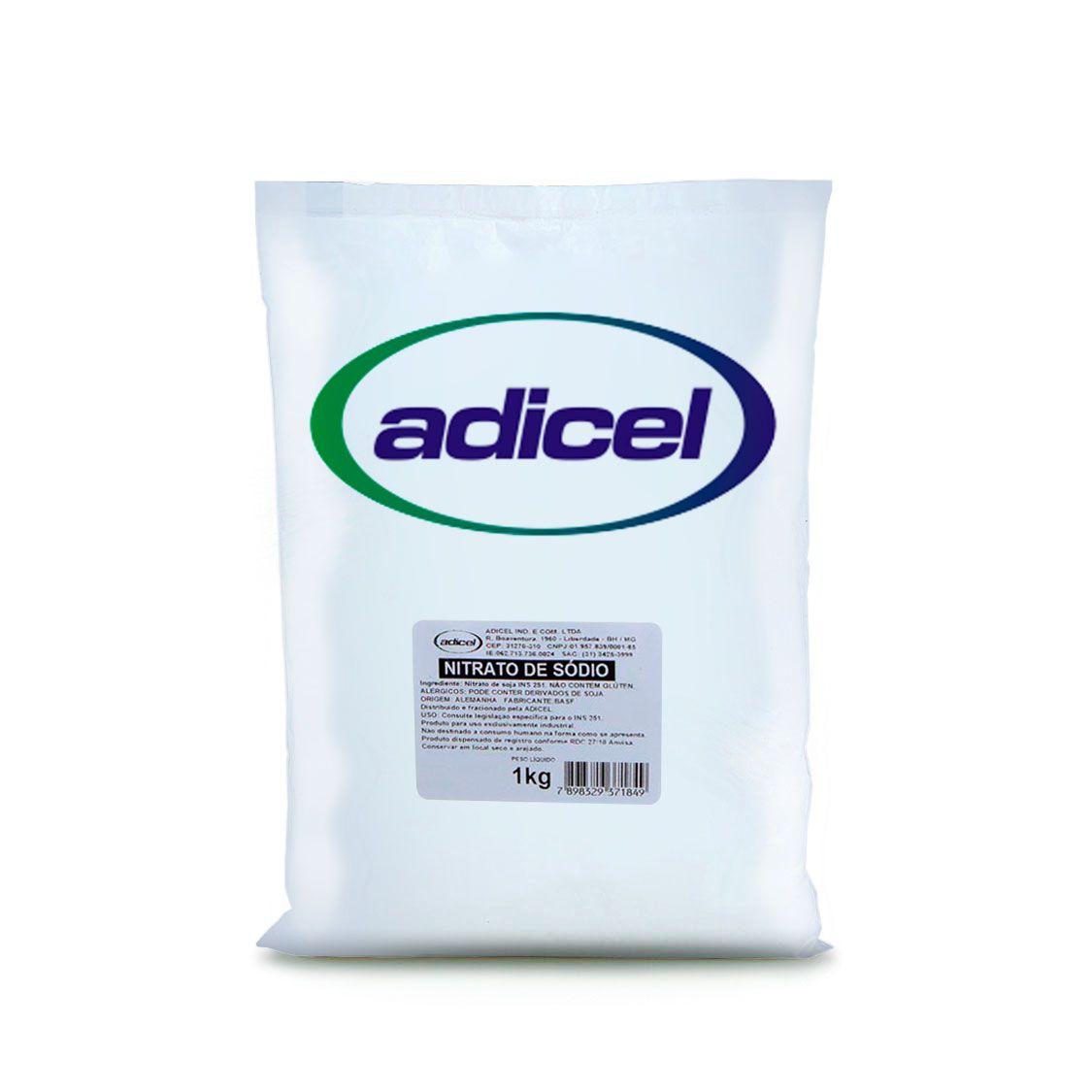Nitrato De Sódio - 1 Kg