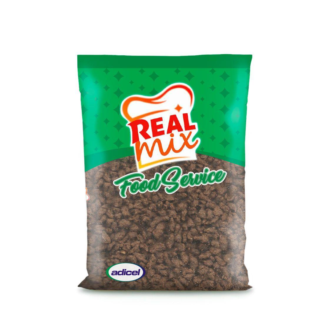 Proteína Texturizada  De Soja Cor Caramelo Tamanho Médio - 400 g
