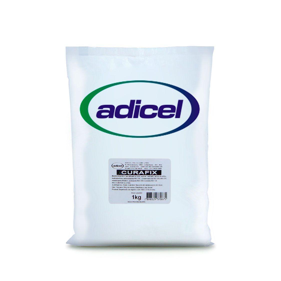 Sal De Cura Curafix (Cura Sem Condimentação) - 1 kg