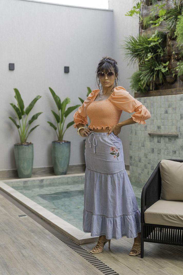 [PRÉ-VENDA] Blusa Latex Poa - Contra Sensura