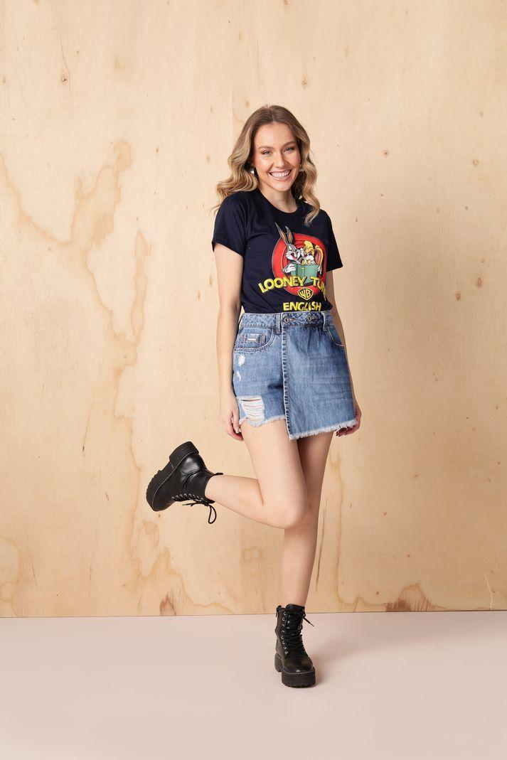 [PRÉ-VENDA] Blusa T-shirt Perna Longa - Contra Sensura