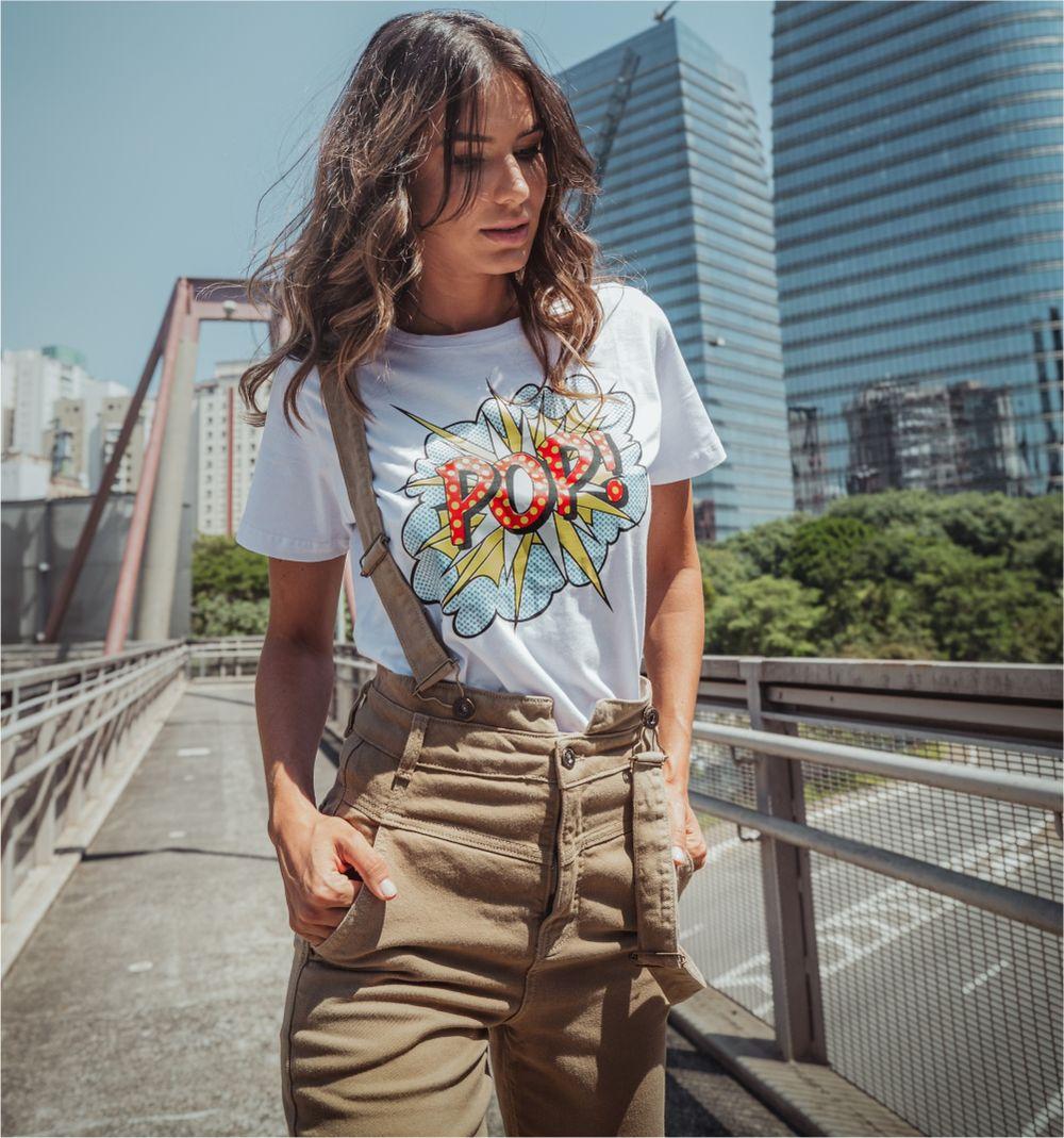 [PRÉ-VENDA] Blusa T-short Pop - Contra Sensura