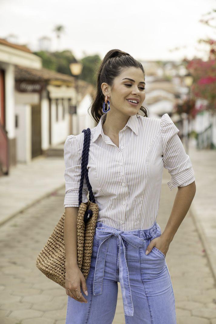 [PRÉ-VENDA] Calça Feminina Pantalona Maxi - Contra Sensura