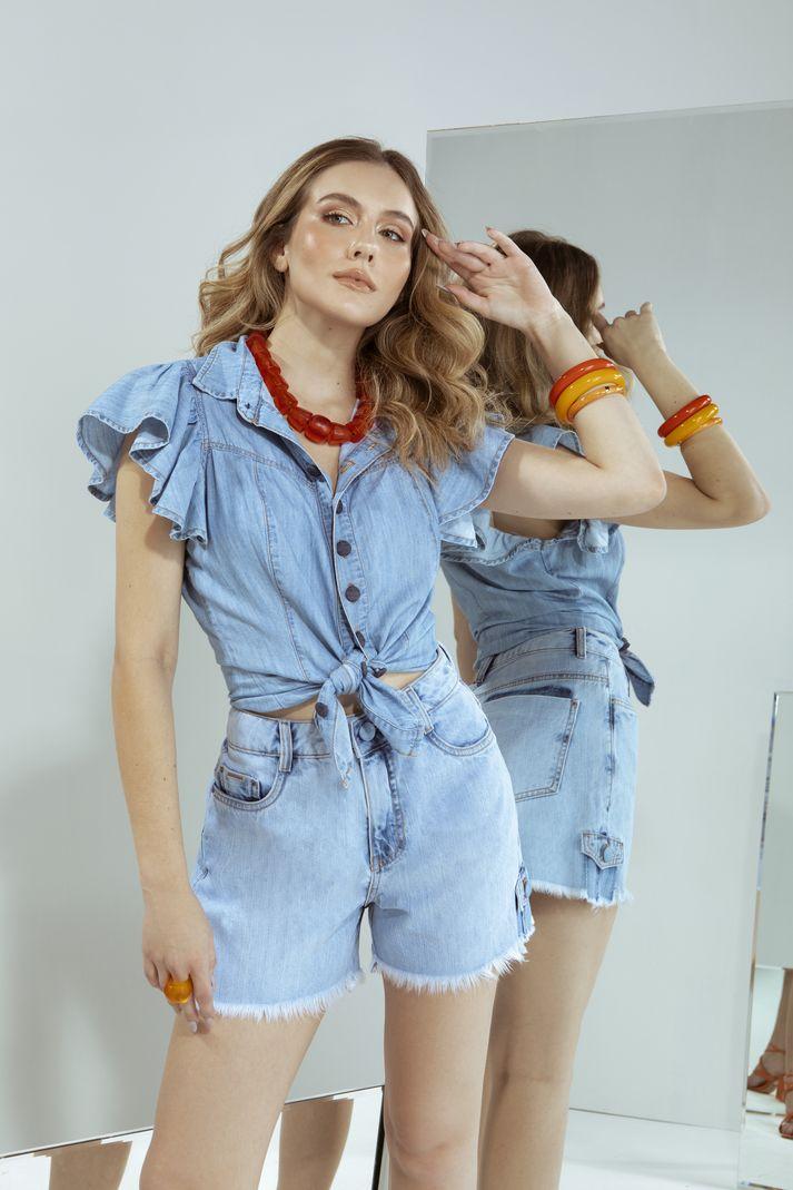 [PRÉ-VENDA] Camisa Babado - Contra Sensura