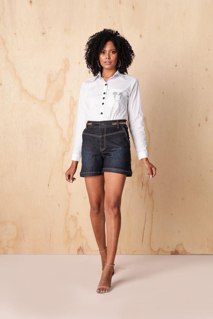 [PRÉ-VENDA] Camisa Feminina com Aplicação - Contra Sensura