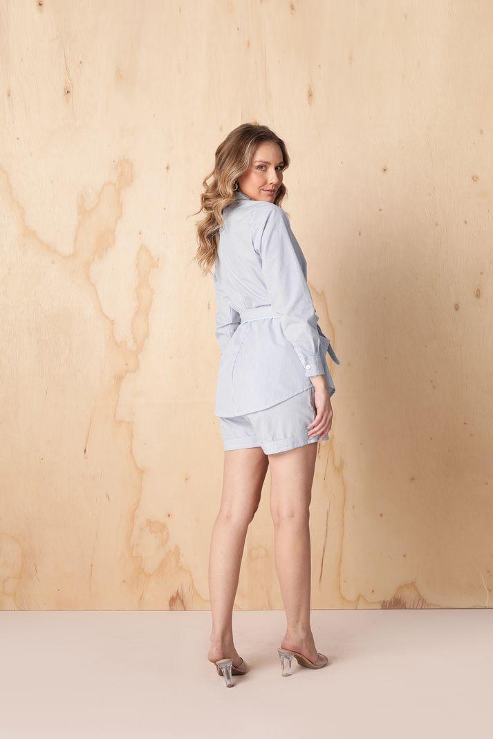 Conjunto Pijama Camisa Amarraçao e SHO - Contra Sensura