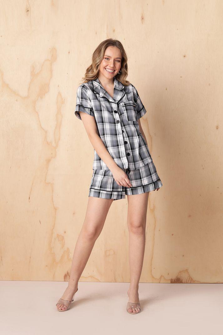[PRÉ-VENDA] Conjunto Pijama de Short- Contra Sensura