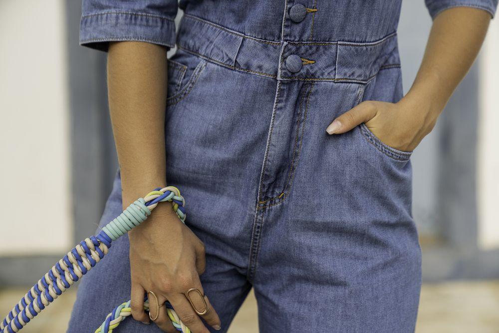 [PRÉ-VENDA] Macacão Feminino Utilitário - Contra Sensura