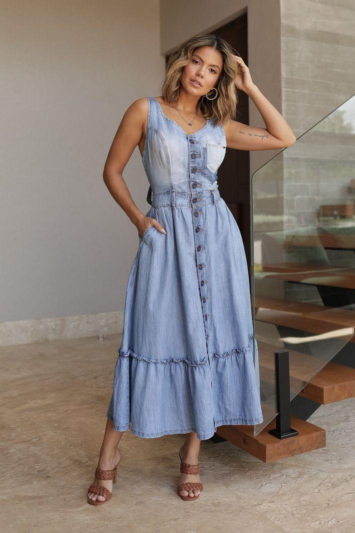 [PRÉ-VENDA] Vestido Amarração Costa - Contra Sensura