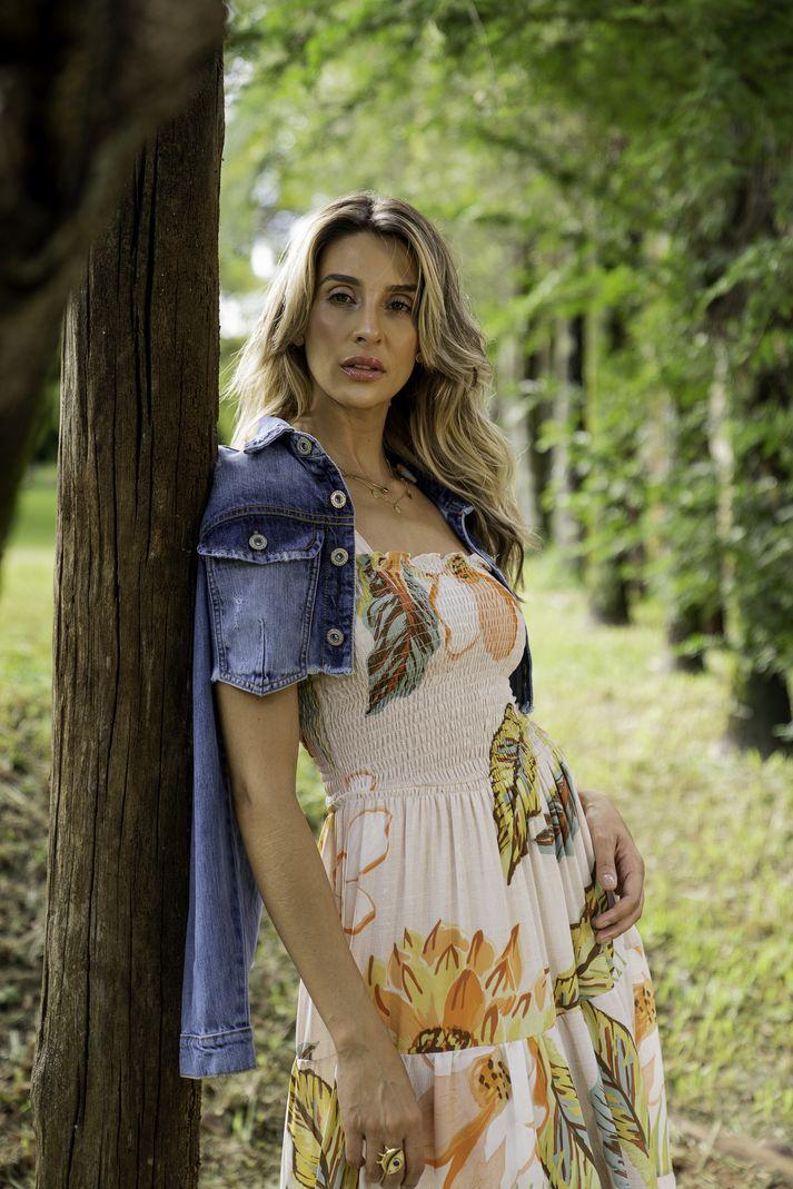 [PRÉ-VENDA] Vestido Lastex Amarração - Contra Sensura