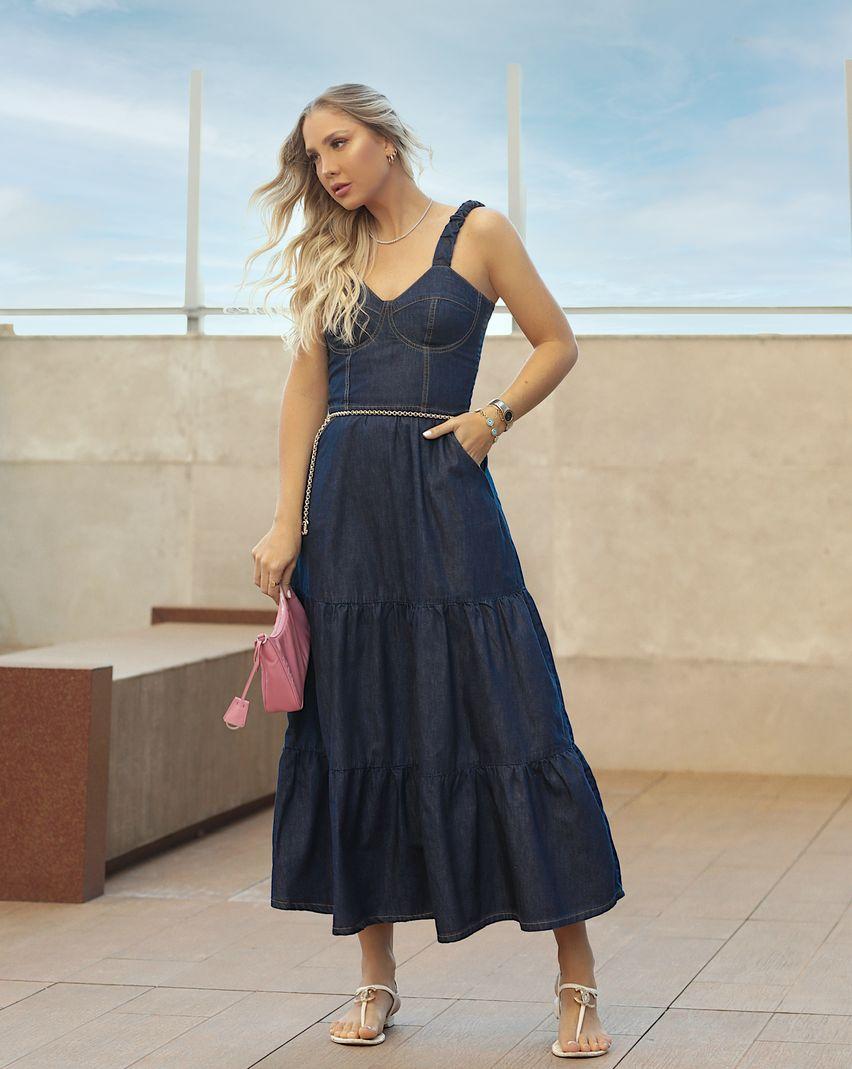 [PRÉ-VENDA] Vestido Longo Feminina - Contra Sensura
