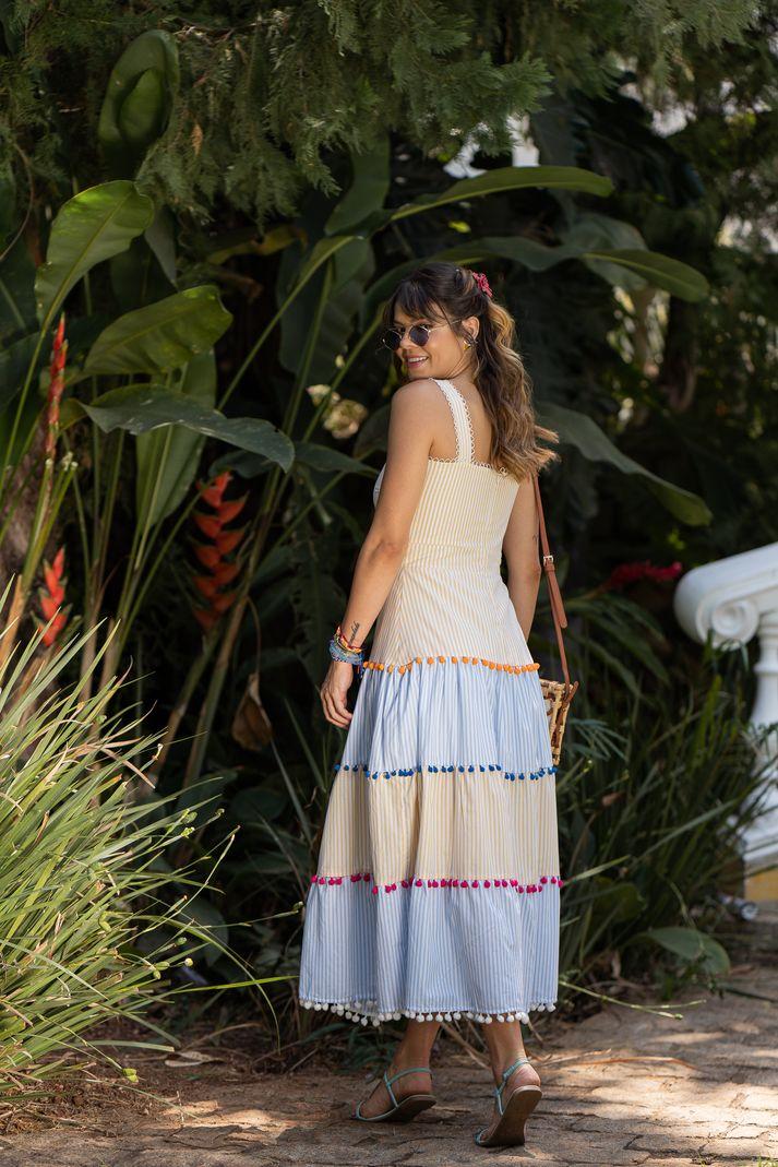 [PRÉ-VENDA] Vestido Midi Marias - Contra Sensura