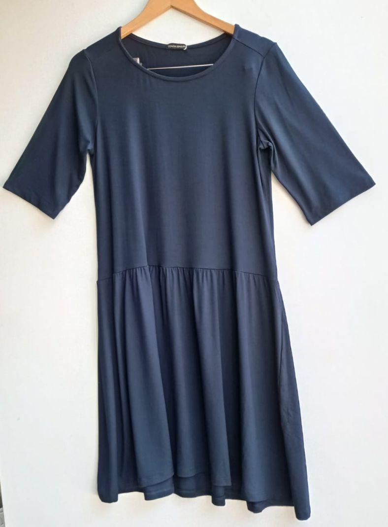 Vestido Malha Gola Careca Curto - Contra Sensura