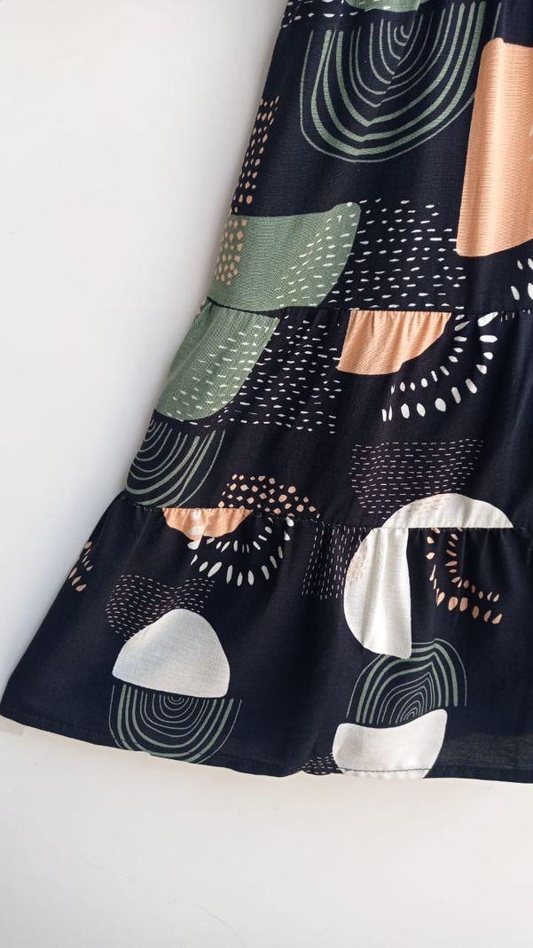Vestido Viscose Alça Amarração - Contra Sensura