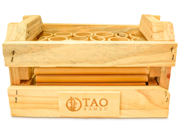 Kit Construção de Bambu (Caixote)