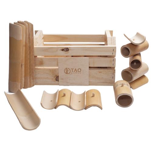 Kit Construção de Bambu (Sacola)