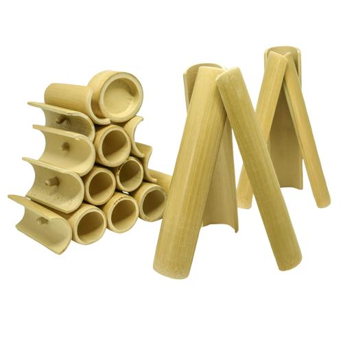 Mini Kit Construção de Bambu (Caixote)