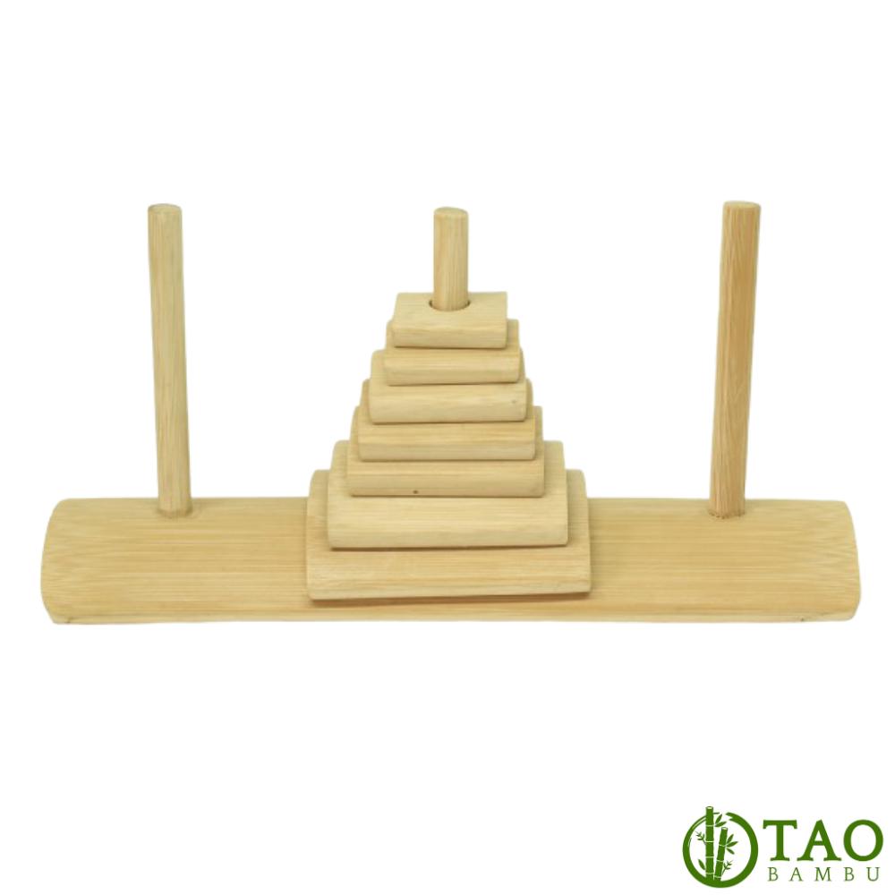 Torre de Hanoi de Bambu