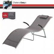 Cadeira Chaise Importada *Easy - Área Externa, Piscina, Varanda, Jardim, Gazebo