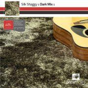 Tapete Silk Shaggy Dark Mix - Ouro Velho - Fios de Seda* 40mm