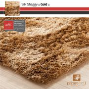 Tapete Silk Shaggy Gold- Castor Ouro - Fios de Seda* 40mm