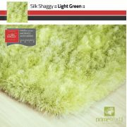 Tapete Silk Shaggy Light Green Verde Claro Fio de Seda 40mm 1,00 x 1,50m