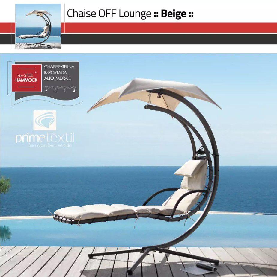 Cadeira Chaise Importada *Lounge - Área Externa, Piscina, Varanda, Jardim, Gazebo