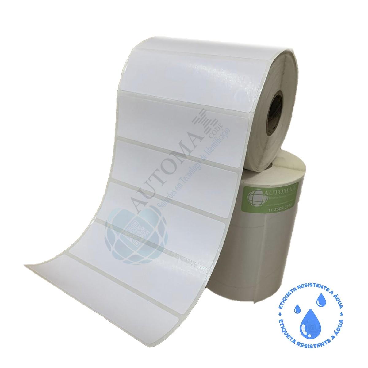 10 Rolos de Etiqueta BOPP 10x3cm | 100mmX30mm